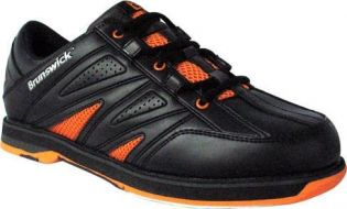BRUNSWICK MENS WARRIOR BLACK/ORANGE