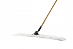 """KEGEL 36"""" APPROACH MICROFIBER MOP WITH HANDLE ASSEMBLY (WHITE)"""
