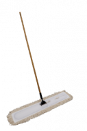"""36"""" APPROACH YARN-STYLE MOP WITH HANDLE ASSEMBLY (WHITE)"""